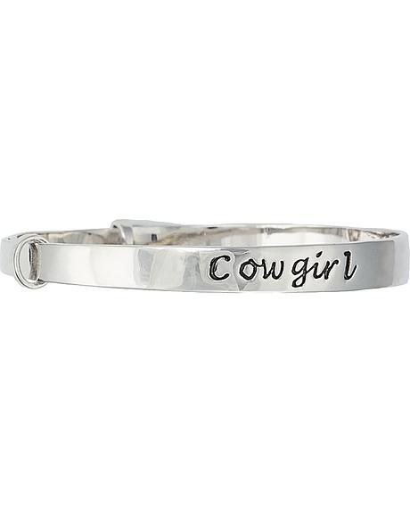Montana Silversmiths Cowgirl Bangle Bracelet