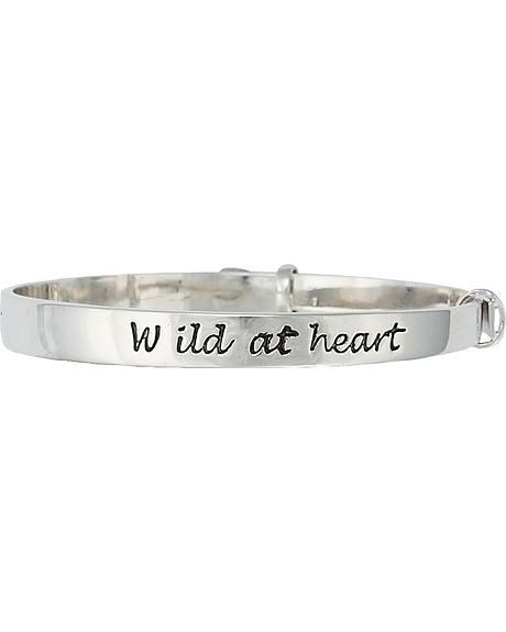 Montana Silversmiths Wild at Heart Bangle Bracelet