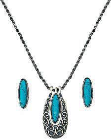 Southwest Royale Necklace & Earrings Set