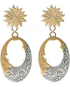 Montana Silversmiths Bitterroot Filigree Earrings