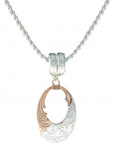 Montana Silversmiths Rose Gold Bitterroot Filigree Necklace