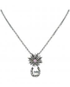 Montana Silversmiths Bitterroot Trail with Heart & Horseshoe Necklace