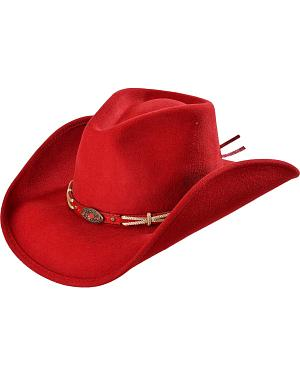Bullhide Emotionally Charged Wool Cowgirl Hat