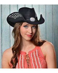 Bullhide Let's Get Loud Wool Cowgirl Hat