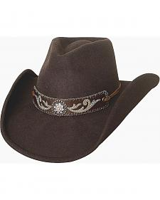 Bullhide Hangin' Out Brown Wool Cowgirl Hat