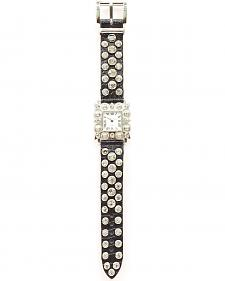 Blazin Roxx Rhinestone Studded Watch
