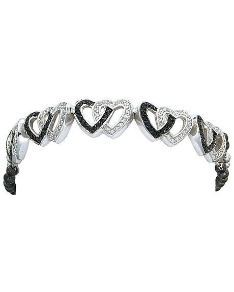 Montana Silversmiths Double Heart Bracelet