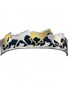 Montana Silversmiths Horse Cuff Bracelet