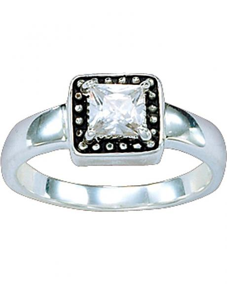 Montana Silversmiths Western Princess Solitaire Ring - Size 7