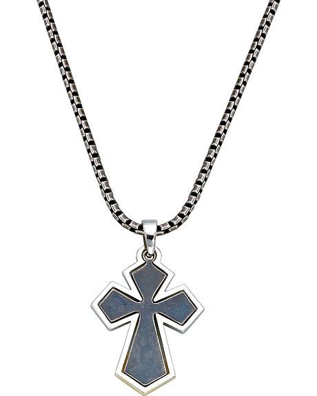 Montana Silversmiths Antique Cross Necklace