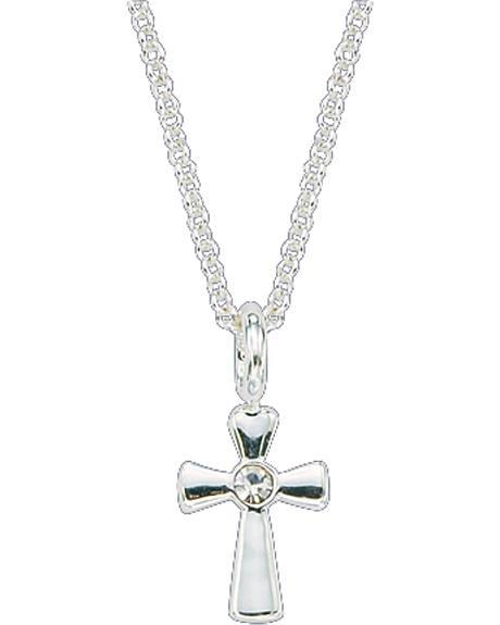 Montana Silversmiths Rhinestone Cross Necklace