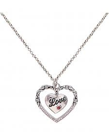 Montana Silversmiths Love & Heart Necklace