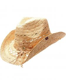 Peter Grimm Mallorie Straw Cowgirl Hat