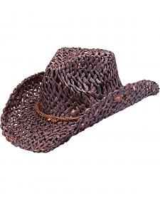 Peter Grimm Ford Straw Cowgirl Hat
