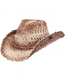 Peter Grimm Ford Natural Straw Cowgirl Hat