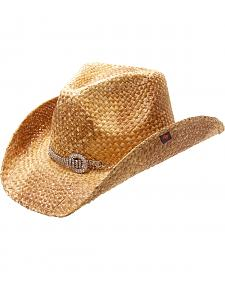 Peter Grimm Prelude Bling Band Straw Cowgirl Hat