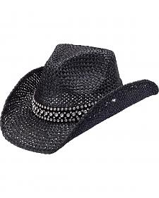 Peter Grimm Weston Bling Band Straw Cowgirl Hat