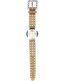Heart Cutouts & Rhinestones Watch