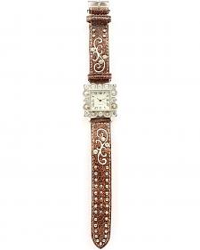 Fancy Bedecked & Embroidered Watch