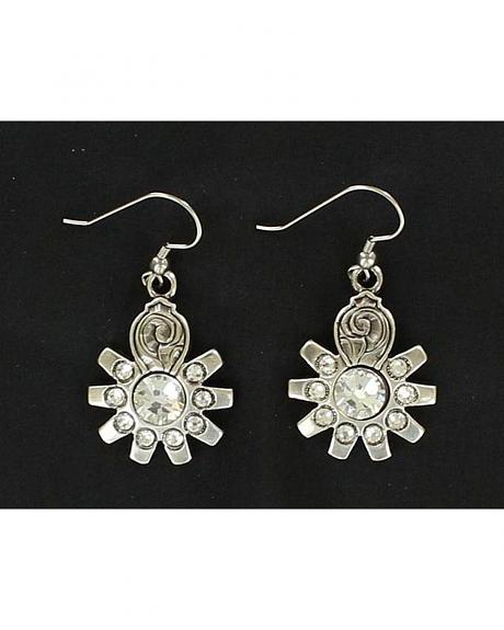 Lightning Ridge Antique Spur Rowel Earrings