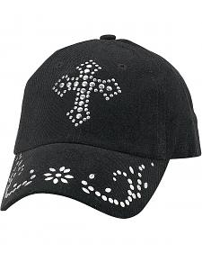 Studded Cross Cap