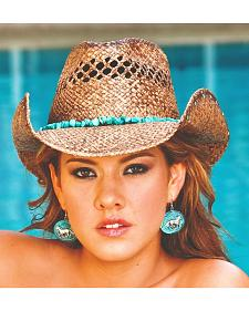 Bullhide Year of Summer Raffia Straw Cowgirl Hat