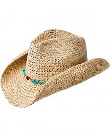 Bailey Chance Crushable Straw Cowgirl Hat
