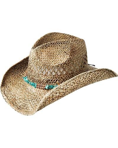 Bailey Kemen Crushable Straw Cowgirl Hat Western & Country S14E04