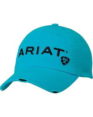 Ariat Turquoise Logo Embroidered Cap
