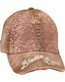 Blazin Roxx Bedecked Wing Embroidered Cap