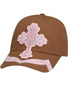 Blazin Roxx Crystal Cross Patch Cap