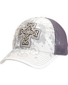 Blazin Roxx Bedecked Cross Mesh Back Cap