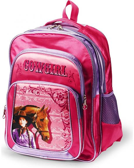 Girls' Cowgirl Backpack