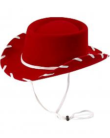 Children's Red Woody Cowboy Hat