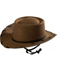 Children's Brown Woody Cowboy Hat