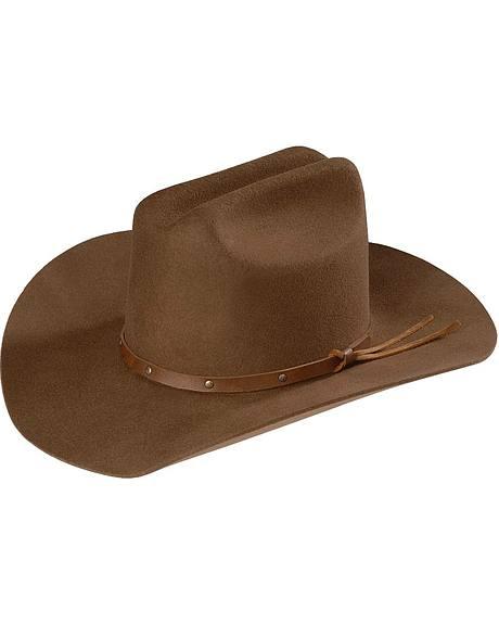 Bailey Kids Cattleman Wool Cowboy Hat
