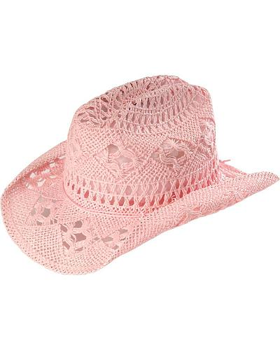 Bullhide Kids April Straw Cowboy Hat Western & Country 2357P