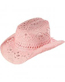 Bullhide Kids' April Straw Cowboy Hat