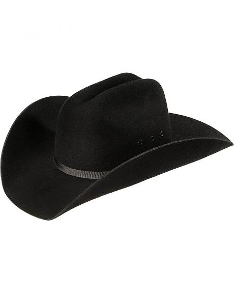 Kids' Wool Felt Cattleman Cowboy Hat
