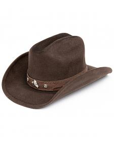 Bullhide Kids' Horsing Around Wool Cowboy Hat