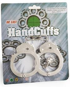 Kids' Toy Handcuffs with Key