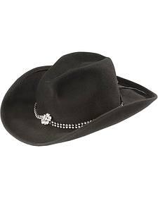Bullhide Kids' Rhinestone Band Cowgirl Hat