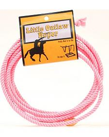 Little Outlaw Pink Lasso Rope