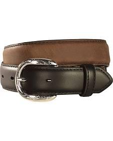 Kids' Lace & Concho Leather Belt - 18-28