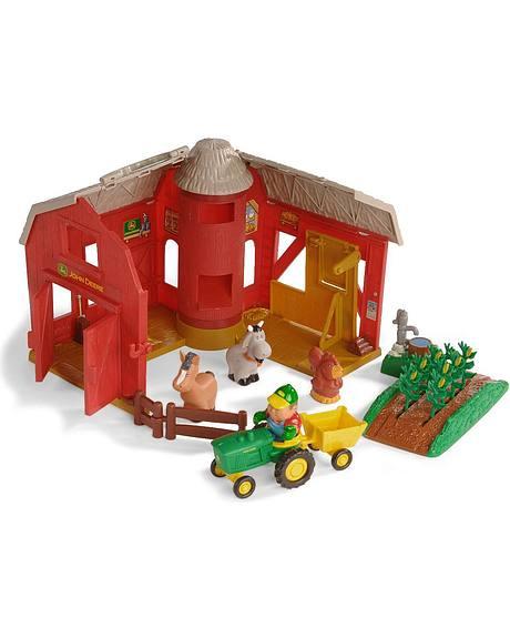 John Deere Big Red Barn Playset