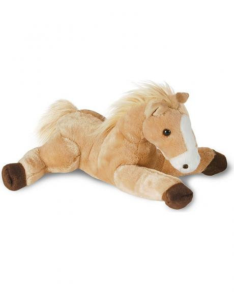 Butterscotch Stuffed Horse Toy