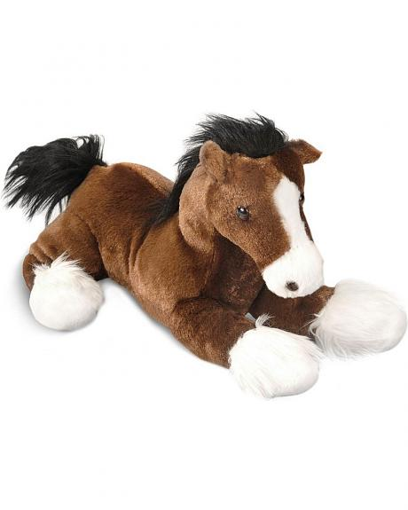 Captain Stuffed Horse Toy