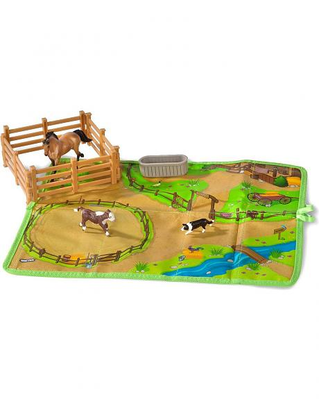 Breyer Roll & Go Western Play Set