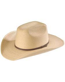Infant's Palm Leaf Straw Cowboy Hat