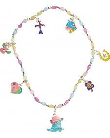 Girls' Western Charm Necklace
